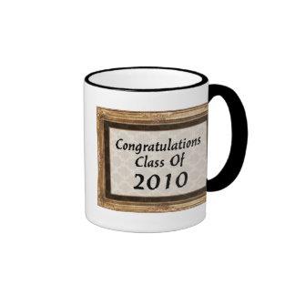 Congratulations Class Of 2010 Ringer Mug
