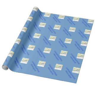CONGRATULATIONS CUSTOM WRAPPING PAPER