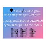 Congratulations Dad - Music - Guitar - Postcard