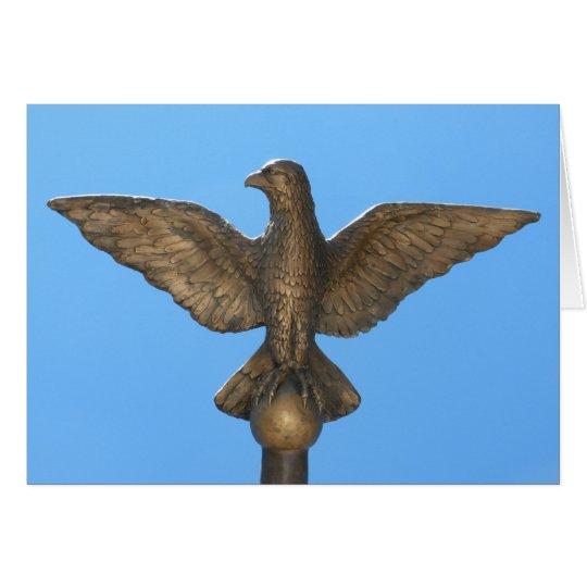 Congratulations: Eagle & Blue Sky Card