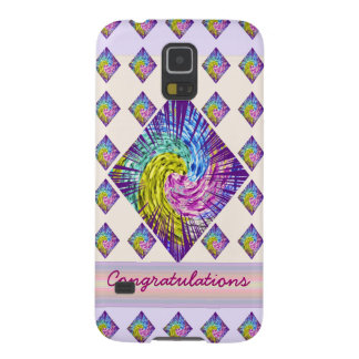 Congratulations : Editable Text to yr own Greeting Galaxy S5 Cases