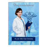 Congratulations for White Coat Ceremony Card