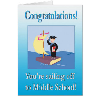 Congratulations From Lower School Graduate Card
