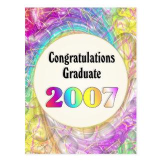 Congratulations Graduate 2007 Postcard