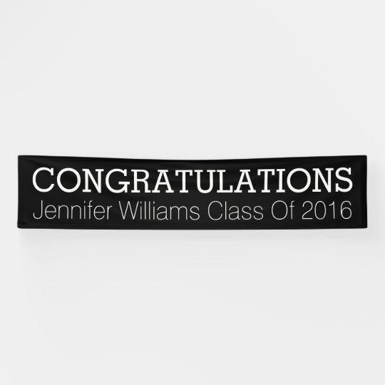 congratulations graduate banner zazzle com