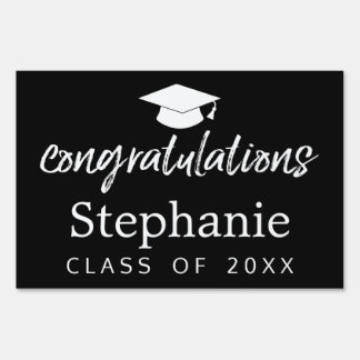 Congratulations Graduate Class of 2017 Graduation Lawn Sign