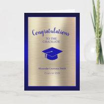 Congratulations Graduate Class of 2021 Blue Gold Card