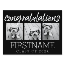 Congratulations Graduate Class of Year Graduation Yard Sign