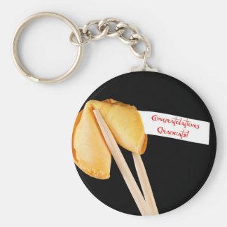 Congratulations Graduate! Fortune Cookie Basic Round Button Keychain