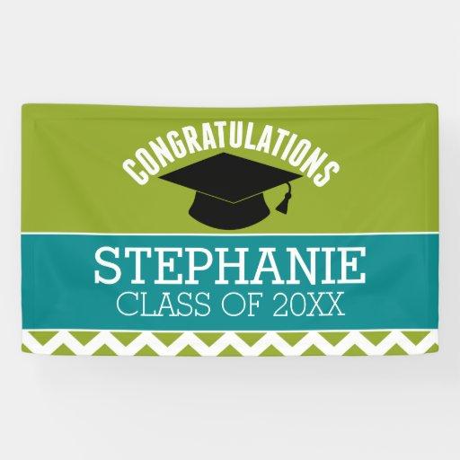 Congratulations Graduate - Personalized Graduation Banner ...