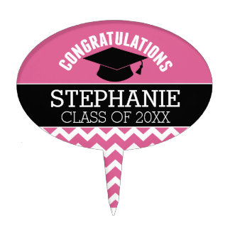 Congratulations Graduate - Personalized Graduation Cake Topper