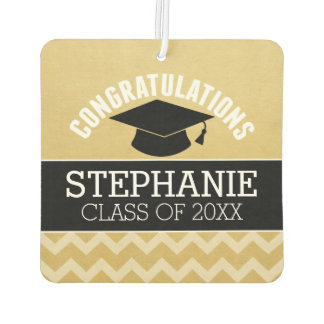 Congratulations Graduate - Personalized Graduation Car Air Freshener