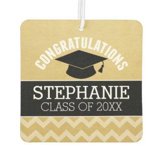 Congratulations Graduate - Personalized Graduation Car Air Freshener