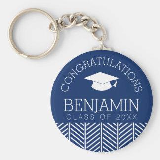 Congratulations Graduate - Personalized Graduation Keychain