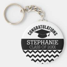 graduation keychains zazzle