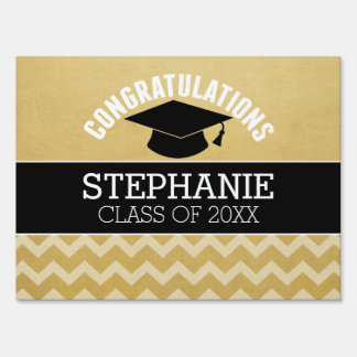 Congratulations Graduate - Personalized Graduation Lawn Sign