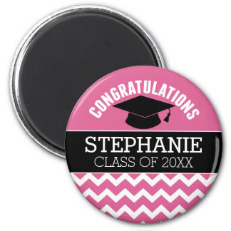 Congratulations Graduate - Personalized Graduation Magnet