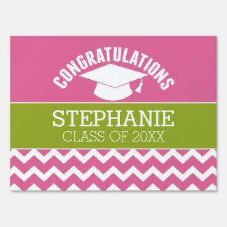 Congratulations Graduate - Personalized Graduation Sign