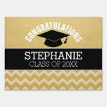 Congratulations Graduate - Personalized Graduation Lawn Signs