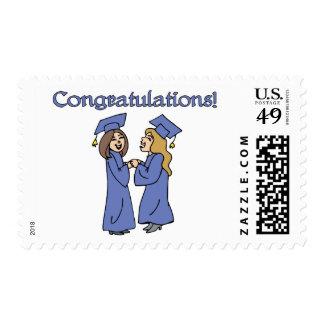 Congratulations Graduates! Postage Stamps