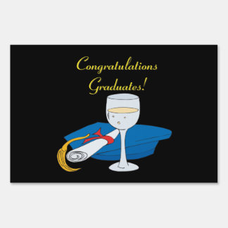 Congratulations Graduates Yard Sign