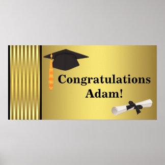 Congratulations Graduation Banner Posters