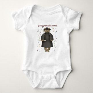 Congratulations Graduation Bear Baby Bodysuit