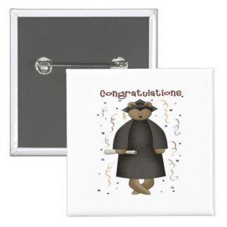 Congratulations Graduation Bear Buttons