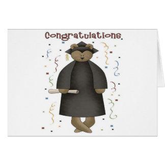 Congratulations Graduation Bear Card