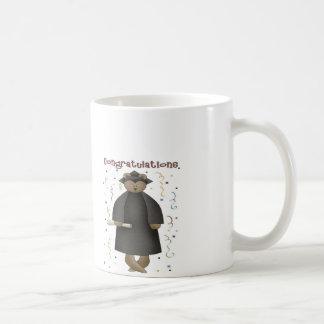 Congratulations Graduation Bear Coffee Mug
