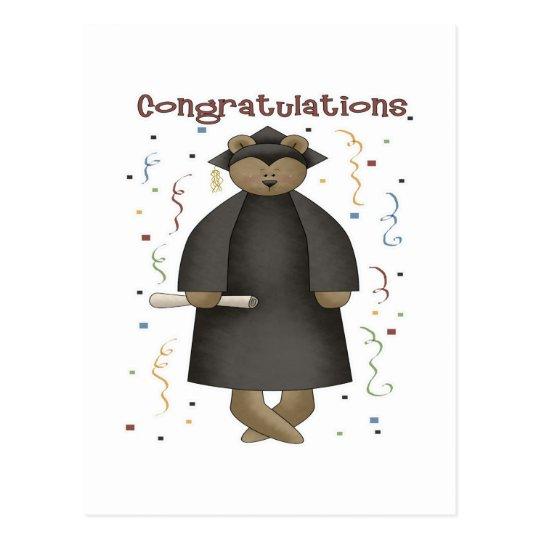 Congratulations Graduation Bear Postcard