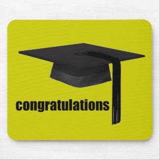 Congratulations Graduation Cap Mouse Pad