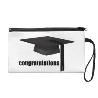 Congratulations Graduation Cap Wrist Bag