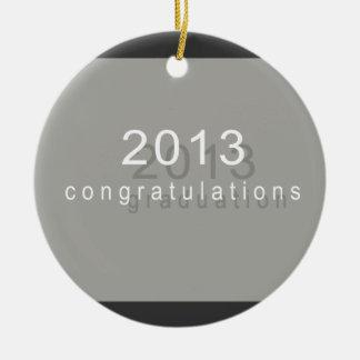 Congratulations Graduation Ceramic Ornament