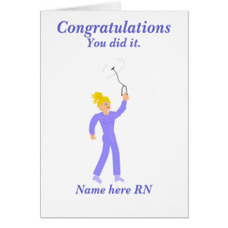 Congratulations Graduation Registered Nurse Card