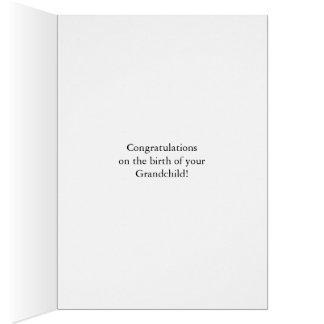 Congratulations grandpa, splashing wine card