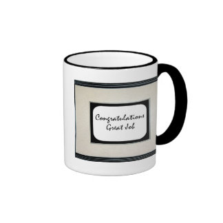 Congratulations Great Job Coffee Mugs