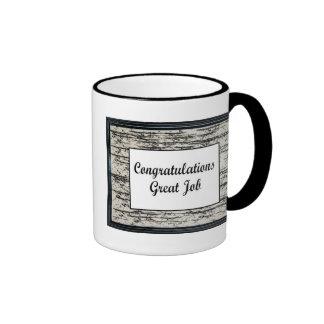 Congratulations Great Job Coffee Mug