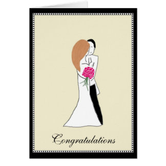 Congratulations Husband and Wife Card