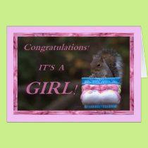 Congratulations… It's A Girl! Card