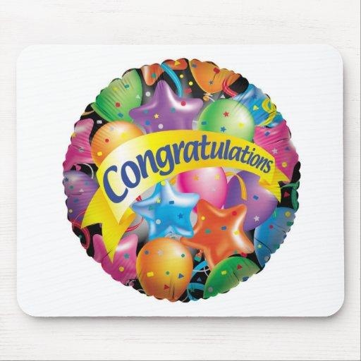 Congratulations.jpg Mouse Pad
