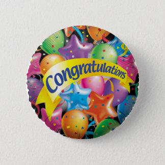 Congratulations.jpg Pinback Button
