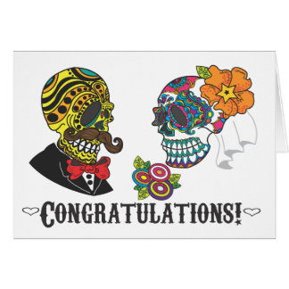 Congratulations! Just Married Card