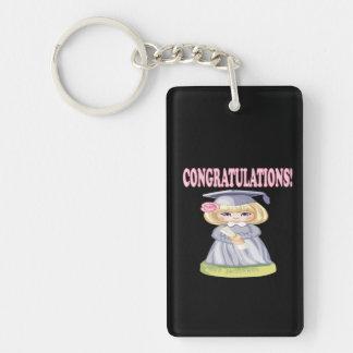 Congratulations Keychain