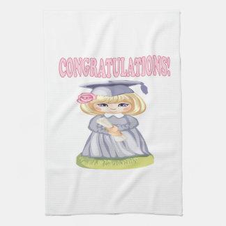 Congratulations Hand Towels