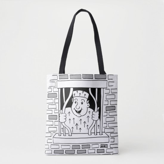 Congratulations Leaving Escape Tote Bag