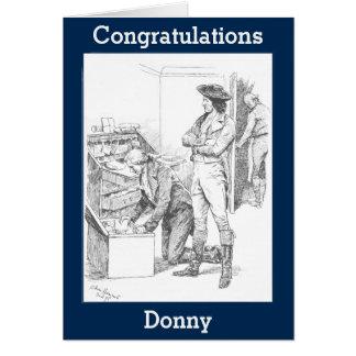 Congratulations leaving your soul crushing job! card