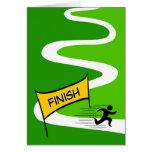 Congratulations/ Marathon Greeting Card