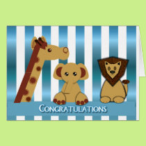 Congratulations, New Baby Boy Card