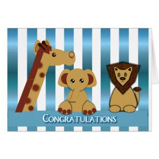 Congratulations, New Baby Boy Card